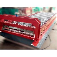 Wholesale Color Steel Roof Panel Roll Forming Machine 12-18 Forming Stations from china suppliers