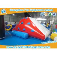 Wholesale Funny Inflatable Water Park Games , Iceberg Inflatable Water Toy Sports Game from china suppliers