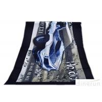 Wholesale Super Soft Durable Velour Beach Towels Personalized For Family from china suppliers