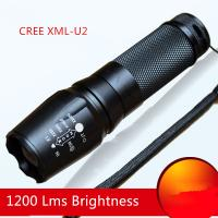 Wholesale Zoom AAA/18650 or 26650 Recharging Multifunctional Powered CREE XML-L2 1200Lms Led Torch from china suppliers