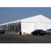 Wholesale Glass Walls Outside Party Tents Wedding , Glass Doors Amusement Park Tent from china suppliers