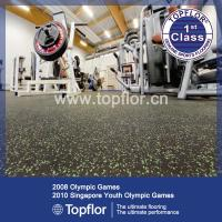 Wholesale EPDM Speckled Rubber Gym Flooring hot sale from china suppliers