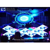 Wholesale Epistar P4 Indoor Stage LED Screens High Definition / 1R1G1B Stage Background LED Display from china suppliers