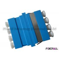 Wholesale Quadplex Fiber Optical Adapter , LC To LC Fiber Adapter With 4 Channels from china suppliers