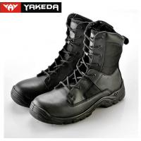 Wholesale Cow Leather Military Tactical Boots Abrasion Resistant Sandwich Mesh from china suppliers