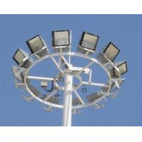 Quality White Painted High Mast Street Light , High Mast Lighting Towers 1000 Watt for sale