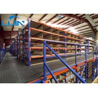 Quality 2000kg Per Shelf Industrial Storage Rack various Catwalk / Aisle Flooring load for sale