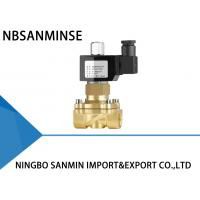 Wholesale Z6 Anti Explosion Forged Brass Solenoid Valve Normally Open 0 - 65 ℃ Temperature from china suppliers
