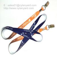 Sublimation transfer print id badge lanyards