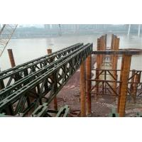 Wholesale Modular Mabey Compact 200 Bridge Temporary Steel Bridge For Construction Support from china suppliers