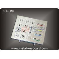 Wholesale IP65 Rated Rugged Metal Numeric Keypad , 16 Keys Digital keypad from china suppliers