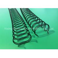 Wholesale 5/8 Inch Nylon Coated Double Wire O Binding Black 135 Pages Paper Quantity from china suppliers
