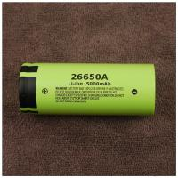 Wholesale Original 3.7V Panasonic 26650A 26650 5000mAh Li-ion Rechargeable Battery Max 10A Discharge Battery NCR26650A from china suppliers