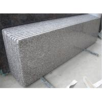 Wholesale Customized G664 Misty Bainbrook Brown Granite Stair Treads / granite paving slabs from china suppliers