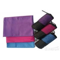 Wholesale Personalized Swim Towels , Pink Microfiber Towel For Camping from china suppliers