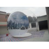 Wholesale Serurity - Guarantee Inflatable Snow Globe Chrismas Bubble Ball For Christmas Dec from china suppliers
