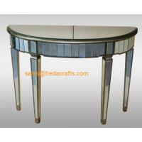 Wholesale China supplier venetian mirrored furniture console table/end table from china suppliers
