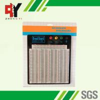 Wholesale ABS Plastic Soldering Breadboard Transparent With Black Aluminum Plate from china suppliers