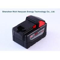 Quality 18V 9.0Ah Li-Ion Replacement Power Tool Batteries For Milwaukee M18 48-11-1828 for sale