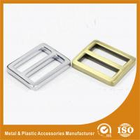 Quality Bag Buckle 25.6X20.3X3.6MM Adjustable Metal Zinc Buckle For Bags Or Shoes for sale