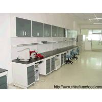 Wholesale Full Steel Lab Workbench With Reagent Shelf For School Chemical Laboratory from china suppliers