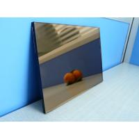 Wholesale Blue / Grey / Pink / Bronze Reflective Glass Sheet With CE Certificate from china suppliers