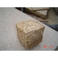 Quality G603 and G682 granite cube stone for sale