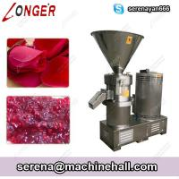 Wholesale Rose Hips Grinding Machine Fruit Jam Making Machine Tamariand Paste Grinder from china suppliers