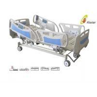 Wholesale Five Function ABS Side Rail Electric ICU Bed With Central Control Brake Wheels (ALS-E507) from china suppliers