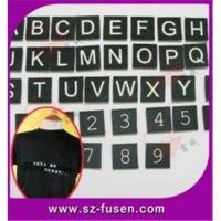 Wholesale Black Decorative Wall Letters Velcro Nylon Letters from china suppliers