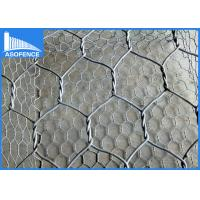 Wholesale Circular Rock Gabion Baskets , Galvanized Gabion Wall Fence For Stones from china suppliers
