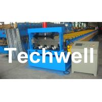 Wholesale Automatic PLC Control Floor Deck Roll Forming Machine from china suppliers