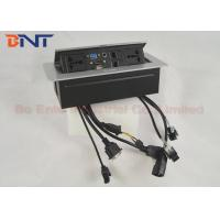 Wholesale Popular Office Desk Pop Up Sockets , Desk Hidden Socket with Universal Outlets from china suppliers
