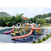Wholesale Commercial Medium Water House Aqua Playground Platform With Water Slide for Water House from china suppliers