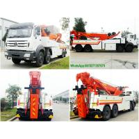 Wholesale NORTHBENZ 8x4 HEAVY DUTY TOW WRECKER TRUCK PRICE Recovery Trucks Wrecker Beiben 3138 from china suppliers