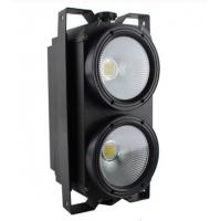 Wholesale Stage Lighting 200W COB LED 2 Eyes Audience Blinder Light DMX Warm White from china suppliers