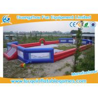 Wholesale 3 Years Warranty Inflatable Football Field / Inflatable Soccer Pitch For Adults from china suppliers