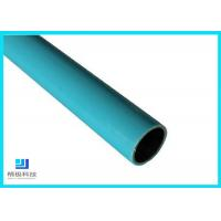 Wholesale Composite Pipes Use For Production Line Blue Plastic Coated Steel Pipe from china suppliers