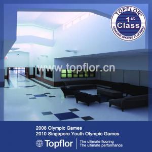 Quality Heterogeneous PVC flooring / Commerical vinyl flooring/Good price for sale