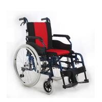 Custom Manual Attendant Wheelchair , Lightweight Collapsible Wheelchair