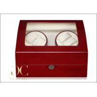 Wholesale Cherry Wood Watch Winder Battery Operated / Watch Winder And Storage Box from china suppliers