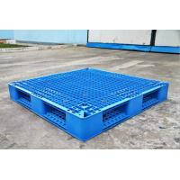 Wholesale Rackable Plastic Shipping Pallets For Storage / Distribution , Blue Plastic Pallet Recycling from china suppliers
