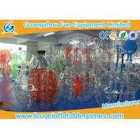 Wholesale Heat Sealing Colorful 0.7mm TPU Bubble Football Balls Digital Printing / Sticking from china suppliers
