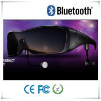 Buy cheap Modern Wireless Colorful Lens Bluetooth Headset Glasses With Strong TR90 Frame from wholesalers