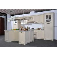 Quality Euro Style Classic White Pvc Kitchen Cabinet for sale
