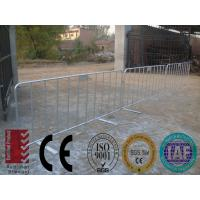 Wholesale AUGUSTA crowd control barriers 1100mm x 2100mm CCB barriers protableOD 32mm round pipes full welding control barriers from china suppliers
