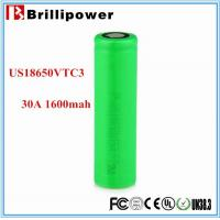 Wholesale 2015 brillipower US18650VTC3 for Sony 3.7v High Drain 18650 Li-ion Battery from china suppliers