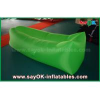 Wholesale OEM Inflatable Lazy Pop Up Sofa Sleeping Bags For Girls Blue / Red / Purple / Pink from china suppliers