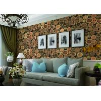 Wholesale Chinese Style Embossed 3D Home Room Decoration Wallpaper For Saloon / TV Background from china suppliers