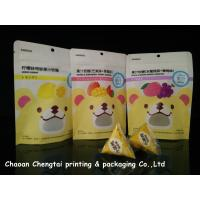 Wholesale Fruit Gummy Candy Packaging Stand Up Pouch With Ziplock Customized Size from china suppliers